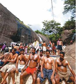 Image result for oil bathing in tamil nadu
