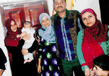 The family was unable to return back to India as their children, born in Karachi, were not issued Indian ..