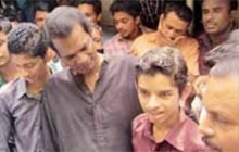 When Salim Kumar visited Faiju, he carried a gift for the boy - 500 quail chicks