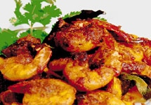 Kerala style chemeen onion fry is a delicious dish and goes well with rice