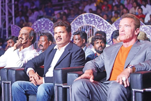 arnold angry in chennai