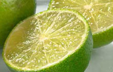 Citrus rinds, such as lime and lemon, make a great polisher