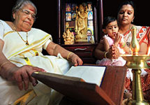 The Ramayana Special page takes you on a spiritual tour