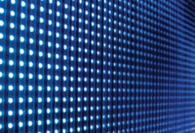 The LED wall in Nanchang has an area of 35,300 square metres