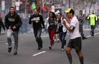 Explosions on Boston Marathon.