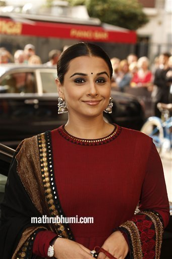 Actor Vidya Balan arrives for the opening ceremony and the screening of The Great Gatsby at the 66th international film festival, in Cannes, southern France, Wednesday, May 15, 2013. (Photo by Joel Ryan/Invision/AP)