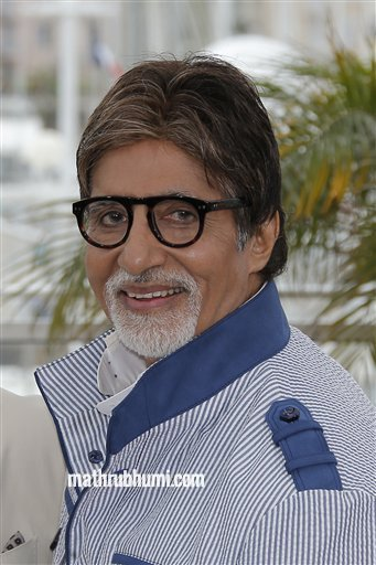 Actor Amitabh Bachchan arrives for the opening ceremony and the screening of The Great Gatsby at the 66th international film festival, in Cannes, southern France, Wednesday, May 15, 2013. (Photo by Joel Ryan/Invision/AP)