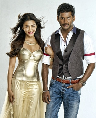 <p><span class='bannertitle'>Poojai movie gallery</span><br /><span class='bannerdescription'>Stills from movie Poojai directed by hari starring Vishal, Sruthi Hassan etc</span></p>